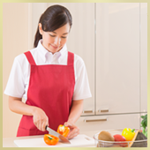 家事代行・料理代行|厳密な採用審査、独自のスタッフ教育